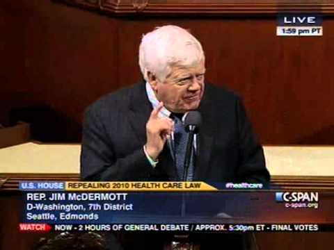 Rep. McDermott on Republican's 37th Vote to Repeal the Affordable Care Act