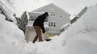 Winter storm Beth hits Sheboygan