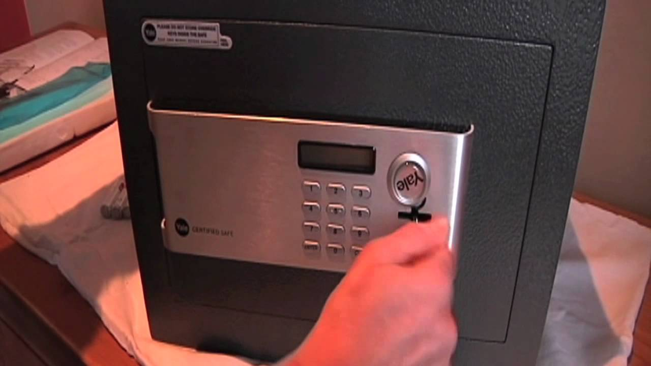 How To Install A Yale Safe Youtube