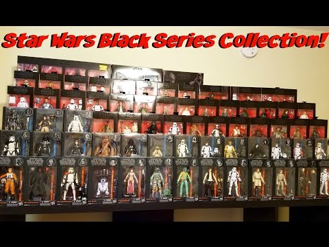 My Enitre Star Wars Black Series Collection + Toy Room Update #1