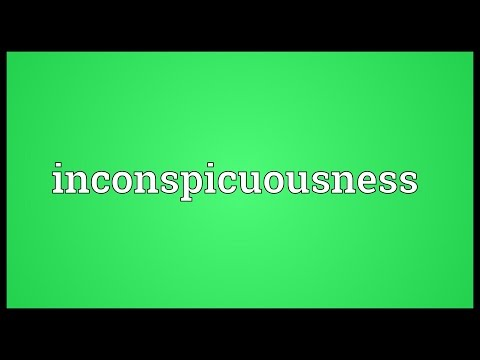Header of inconspicuousness