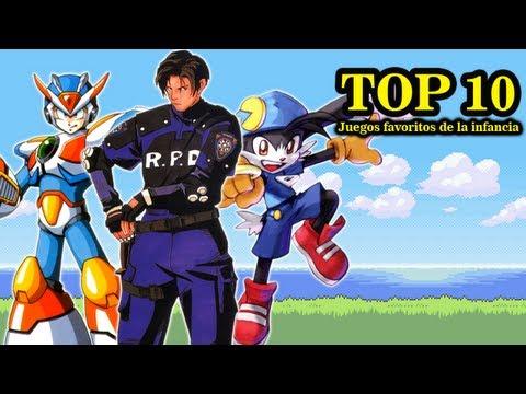 Top 10 - Juegos Favoritos de la Infancia