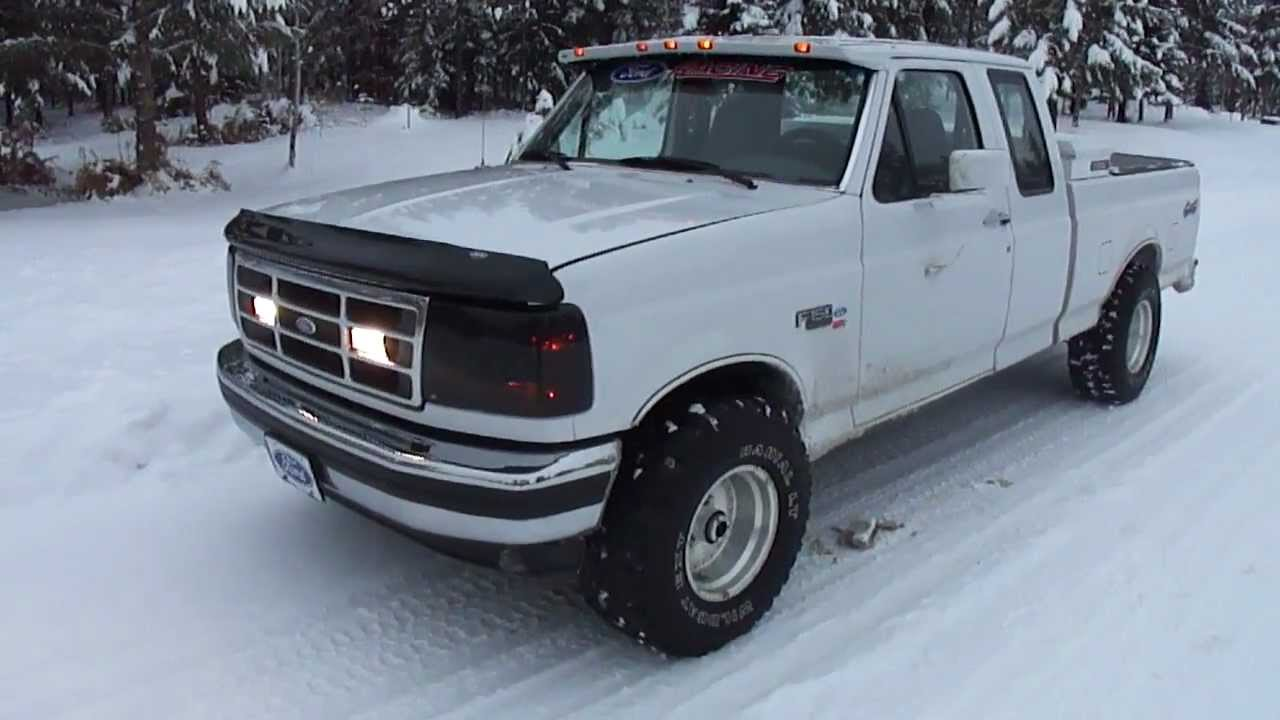 "96 Ford F150 Parts MY 1995 FORD F-150 XLT 4X4 ""WHITESNAKE"" (PART 1) - YouTube"