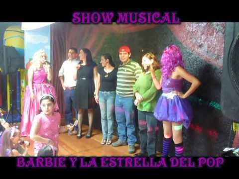 Show infantil Barbie y la estrella del pop