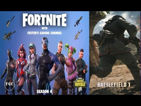 🔴 Fortnite / Battlefield 1 NEW GAME MODE! FINAL FIGHT! GAS!! PC Road to 450 Subs 🔴