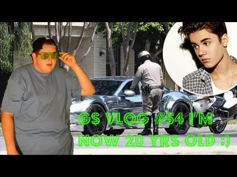 Green Screen Vlog #54 - Justin Bieber Speeding and Its My 20th B-Day