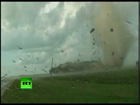 Tornado rips apart house in Minnesota