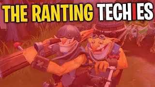 The Ranting Techies - DotA 2 Funny Moments