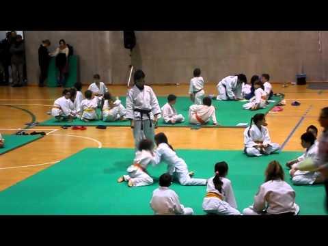 Judo For Kenya 2012 – San Polo di Torrile – 1° Dicembre – Secondo incontro di Chiara e Tommaso