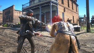 Red Dead Redemption 2: Brutal Funny & Random Gameplay Moments - NPC Interactions & More - Vol.11