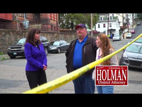 Christine Holman: Re-Elect Commercial #2 - Blight