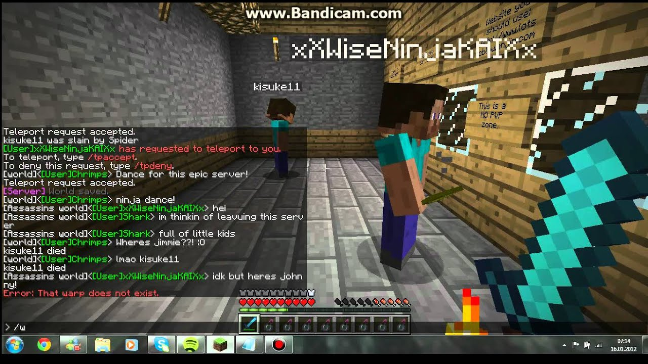 minecraft sever how to disable the help command