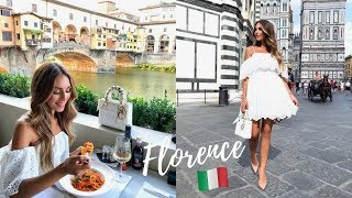 BIRTHDAY WEEKEND IN FLORENCE, ITALY | WHAT I ATE, WORE & DID | Vlog #15 | Annie Jaffrey