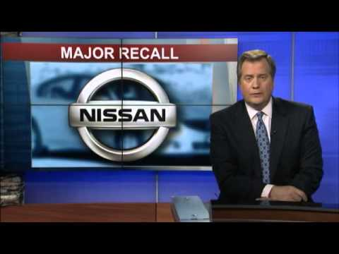 Nissan recalls nearly a million vehicles for air bag problem
