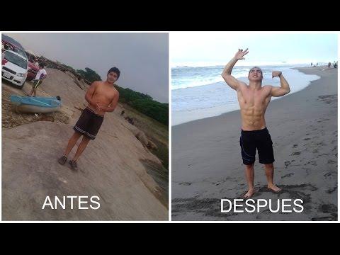 Mi transformación / Mi primer año en Street Workout - Calistenia (Oliver De la Cruz)
