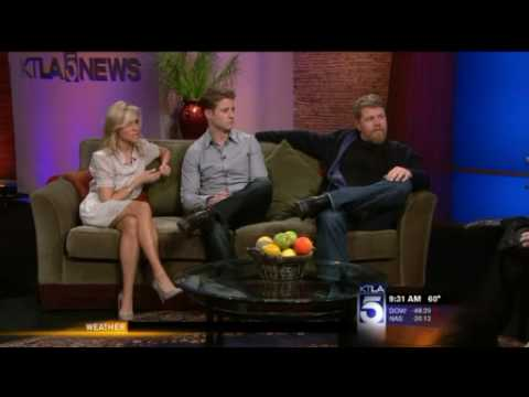 Ben Mckenzie and Michael Cudlitz on the Morning Show.