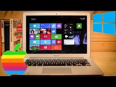 HOW TO  Install WINDOWS 8 on a MAC