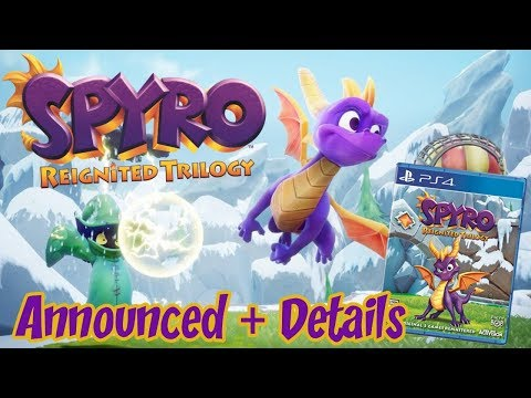 Spyro the Dragon Reignited Trilogy Announced + New Details