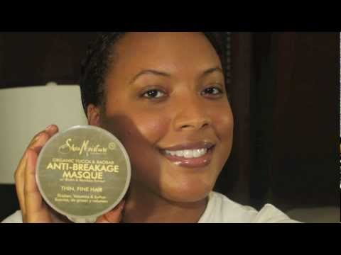 Product Review & My First Impression Of ♡  Shea Moisture Anti-Breakage Masque (Deep Conditioner)
