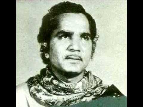 Thumri in Raag Pilu -by Pandit Jagdish Prasad (Radio Bombay 1975)