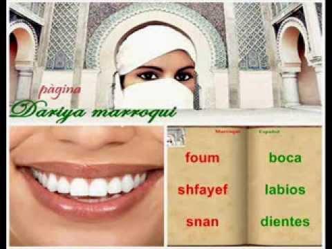 Arabe marroqui