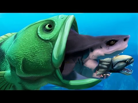 ЭТА РЫБА ПРОГЛОТИТ ВСЁ! ГОЛИАФ! FEED AND GROW FISH