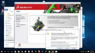 Instalar SolidWorks 2016 SP0 Full Windows 10 [64bit] + TORRENT