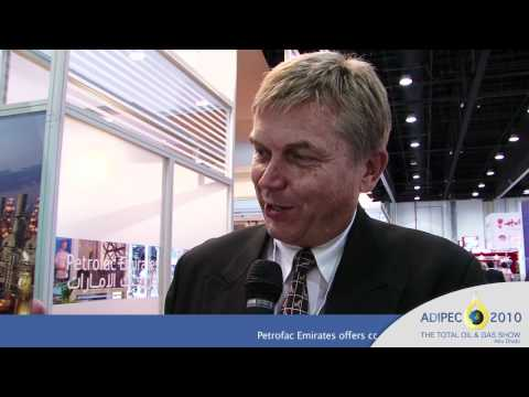 ADIPEC 2010 - Interview with Peter Warner, CEO of Petrofac Emirates