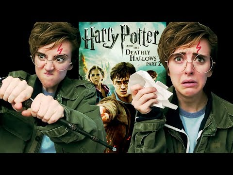 Me Watching Harry Potter and the Deathly Hallows Part 2 Movie Reaction