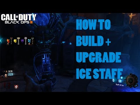 ORGINS - ICE STAFF BUILD + UPGRADE TUTORIAL GUIDE (Black Ops 3 Zombies Chronicles)