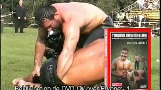 Turkish Oilwrestling in Amsterdam