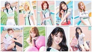 Twice Beauty Ranking In Cheer Up MV