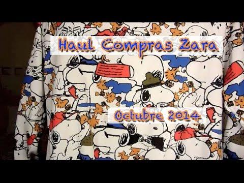 Haul Compras Zara Octubre 2014