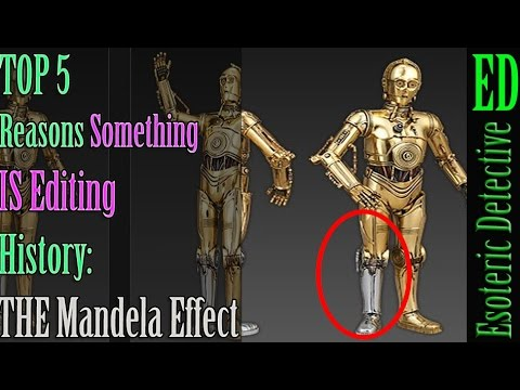 Top 5 Mandela Effects | Is SOMETHING editing HISTORY? #MandelaEffect