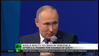 Putin Warns US: Hands Off Venezuela