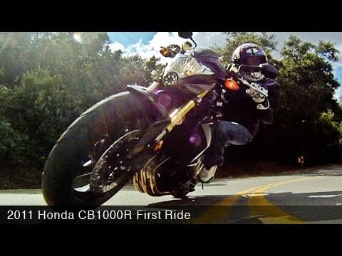 MotoUSA 2011 Honda CB1000R Video