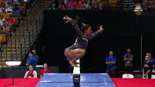 Simone Biles Brings It On The Balance Beam In Boston | Summer Champions Series