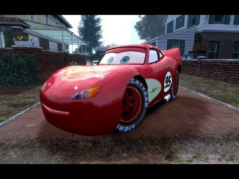 GRAND THEFT AUTO IV RAYO LIGHTNING MCQUEEN 4