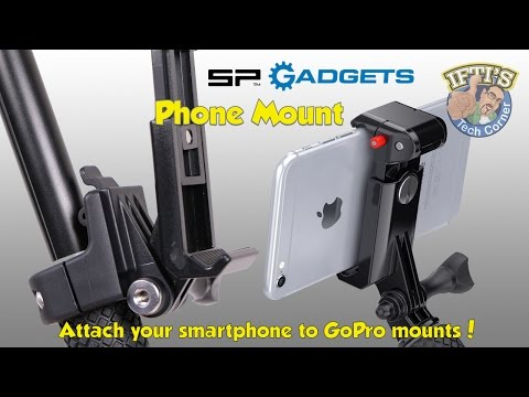 SP Gadgets PHONE MOUNT for GoPro/iPhone/Samsung/Android - REVIEW