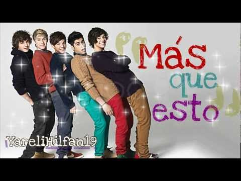 More Than This - One Direction (traducida Al Espaol) video