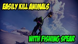 Warframe: How To Kill Animals With Fishing Spear