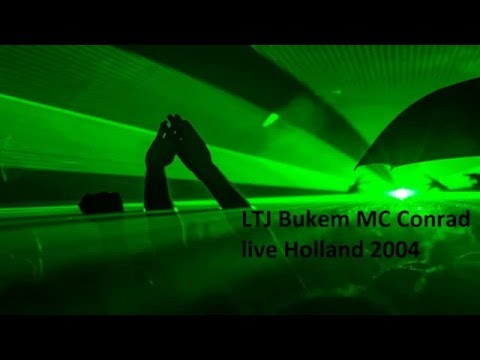 LTJ Bukem MC Conrad live Holland (50m) 2004 Switch Radio