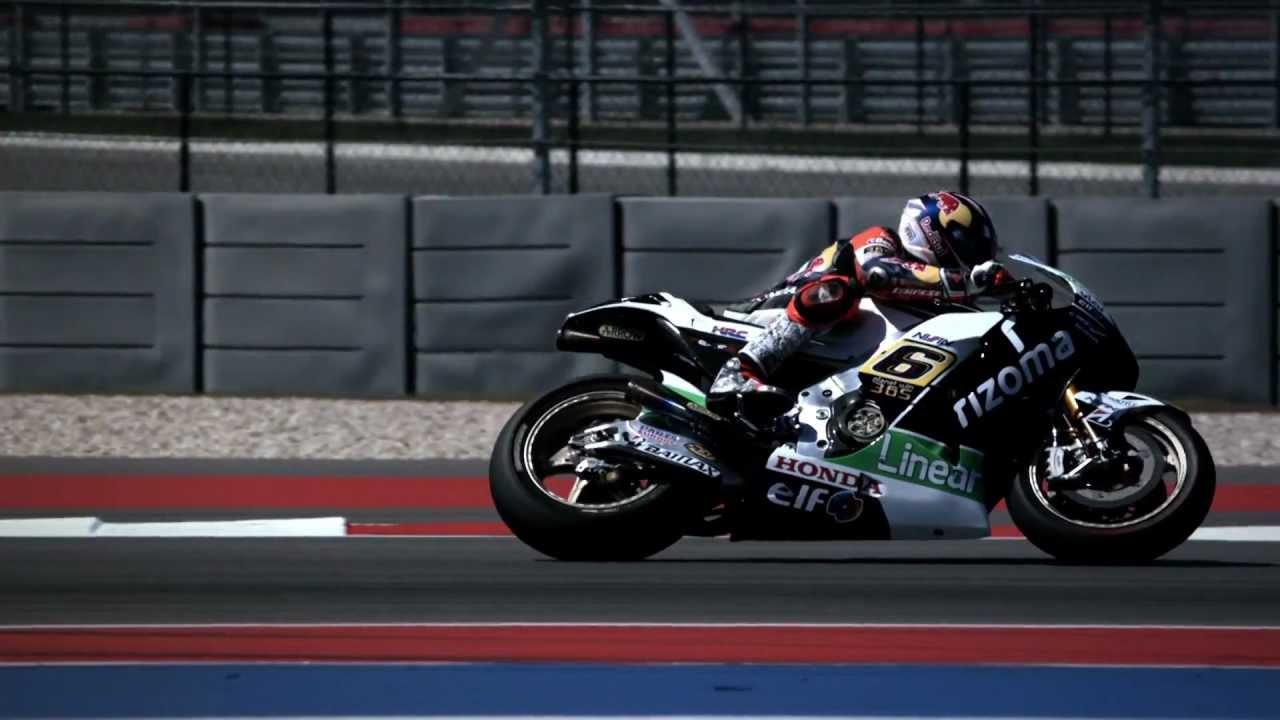 Honda MotoGP Pre-Season Testing Austin 2013 - Day 2 - YouTube