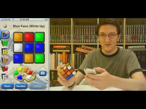iPhone app solves Rubik s cubes - CubeCheater