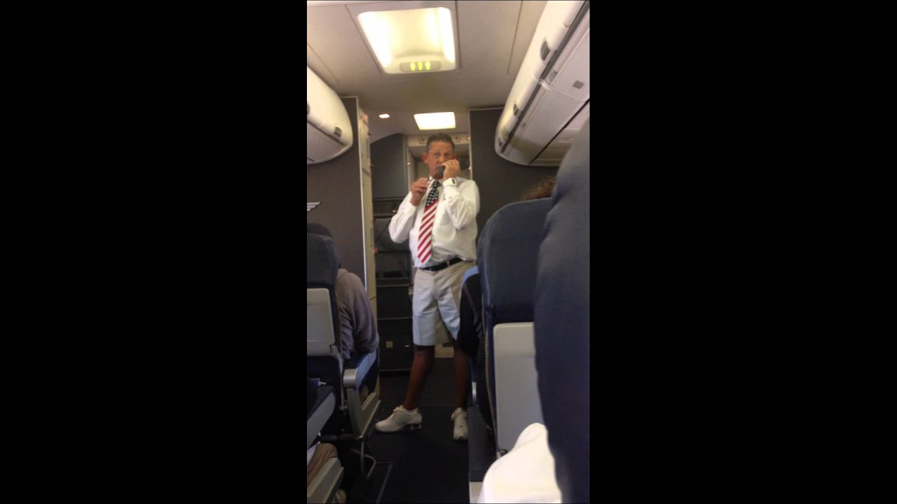 Hilarious Southwest Flight Attendant San Francisco to ...