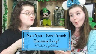 New Year - New Friends Giveaway Loop! - TheDisneySisters
