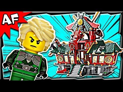 Battle For Ninjago City 70728 Lego Ninjago Animated Building Set Review video