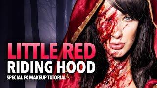 Little Red Riding Hood sfx makeup tutorial