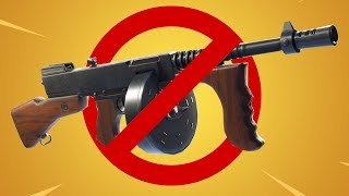 Fortnite UPDATE: *HUGE* SMG NERFS + BUILDING CHANGES! (Rip Compact SMG + Drum Gun)