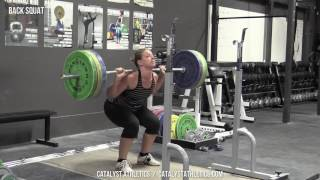 Back Squat - Olympic Weightlifting Exercise Library - Catalyst Athletics